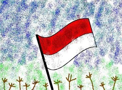 Semangat Kemerdekaan Anak-anak Indonesia