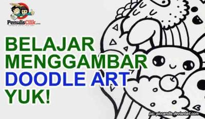 belajar menggambar doodle art yuk