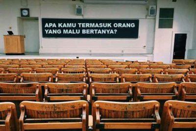 Dampaknya Sifat Malu Bertanya Dalam Kelas