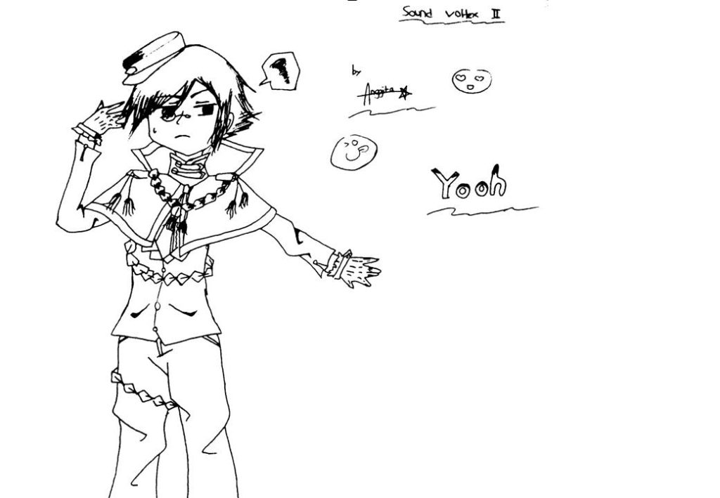 Gambar Sound Voltex II tokoh Yooh