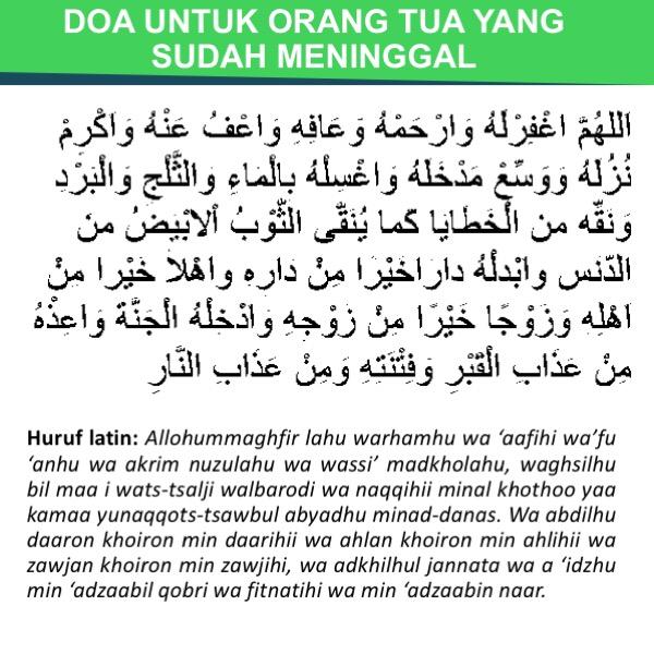 Ini Dia Doa Untuk Orang Tua Dari Anak Sholeh Dan Sholehah