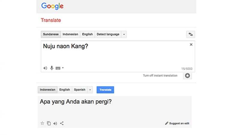 Belajar Bahasa Sunda Dengan Mudah Dan Terjemahan Penulis Cilik