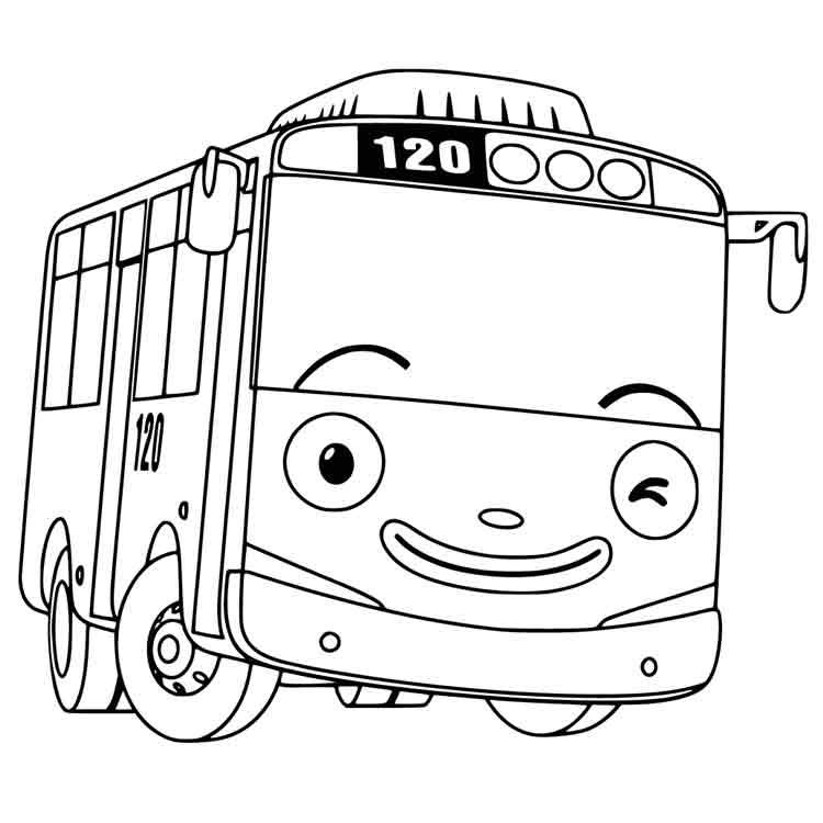26 Gambar Mewarnai Terbaru Untuk Anak Tk Paud Sd Tayo Tobot Dll