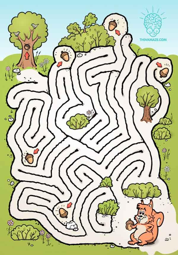 9 Contoh Maze Untuk Anak Paud Dan Tk Permainan Labirin Penulis Cilik