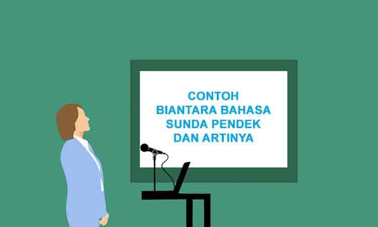 Contoh Biantara Bahasa Sunda Pendek Dan Artinya Pidato Penulis Cilik