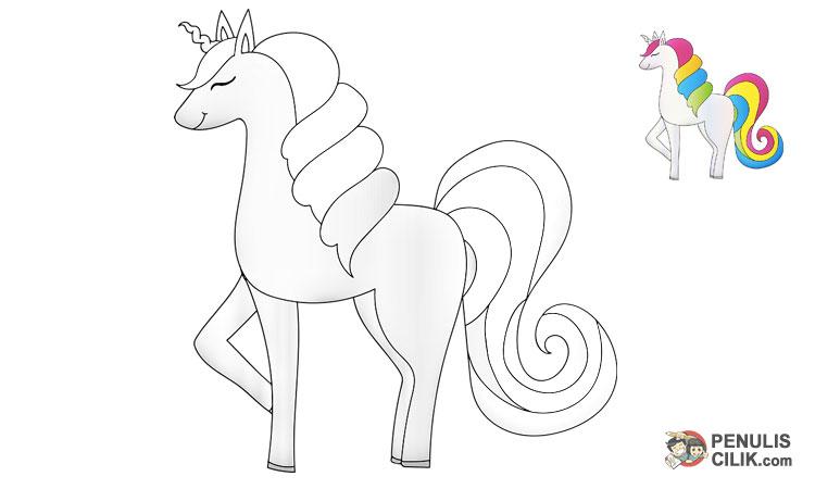 Cara Menggambar Kuda Poni Langkah Demi Langkah Penulis Cilik