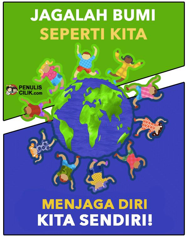 Soal Buatlah Gambar Poster Globalisasi Di Sekitarku Penulis Cilik