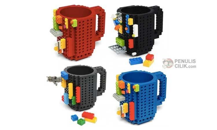 Hadiah ulang tahun anak mug lego