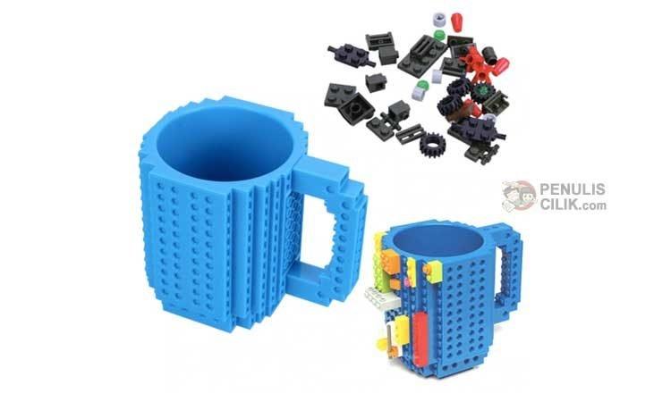 Mug lego untuk hadiah ulang tahun anak