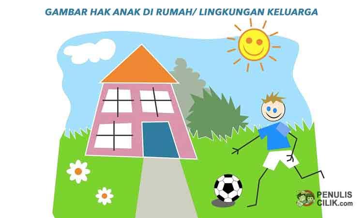 Kewajiban Anak Dalam Kehidupan Sehari Hari Di Rumah Sekitar Rumah