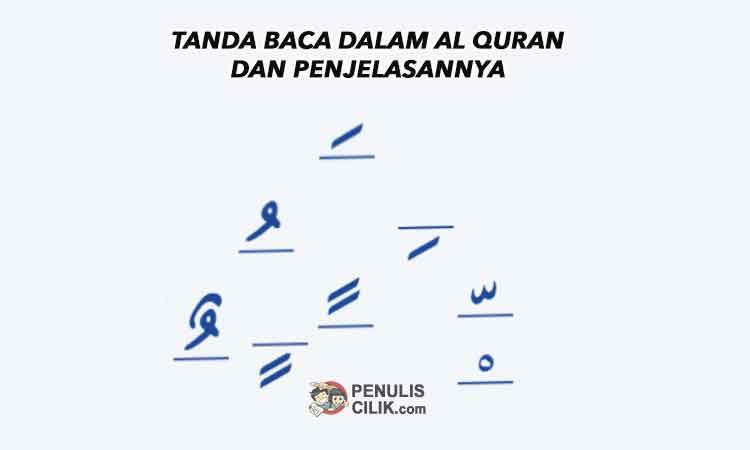 Tanda Baca Dalam Al Quran Dan Penjelasannya Penulis Cilik