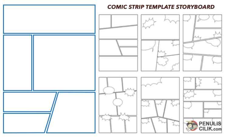Langkah Langkah Membuat Komik Strip Digital Pensil Penulis Cilik