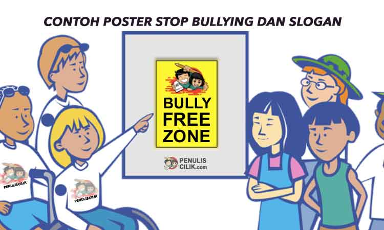Poster Stop Bullying Dan Slogan Anti Bullying Bahasa Indonesia