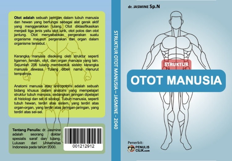 Gambar Cover Buku Otot Manusia Penulis Cilik